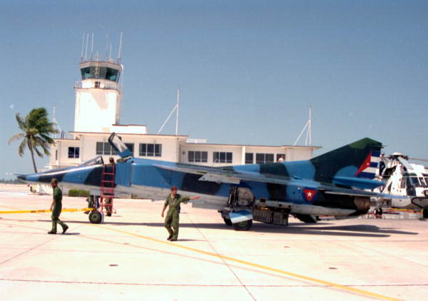 Cuban Pilot Lands His Mig in Key West and Claims Asylum - He risked his life to escape.