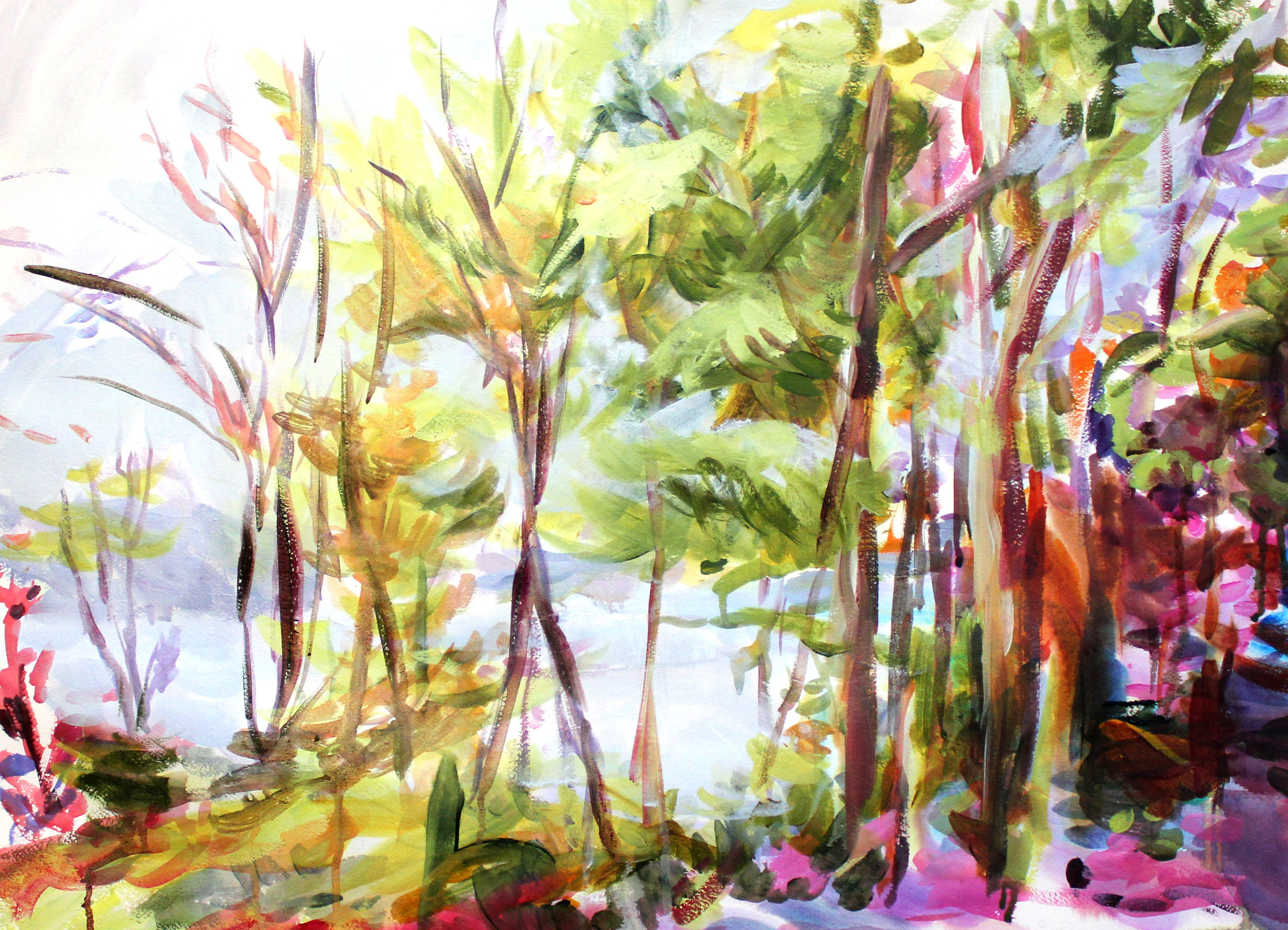 Eastern Townships #3 30x36 on paper