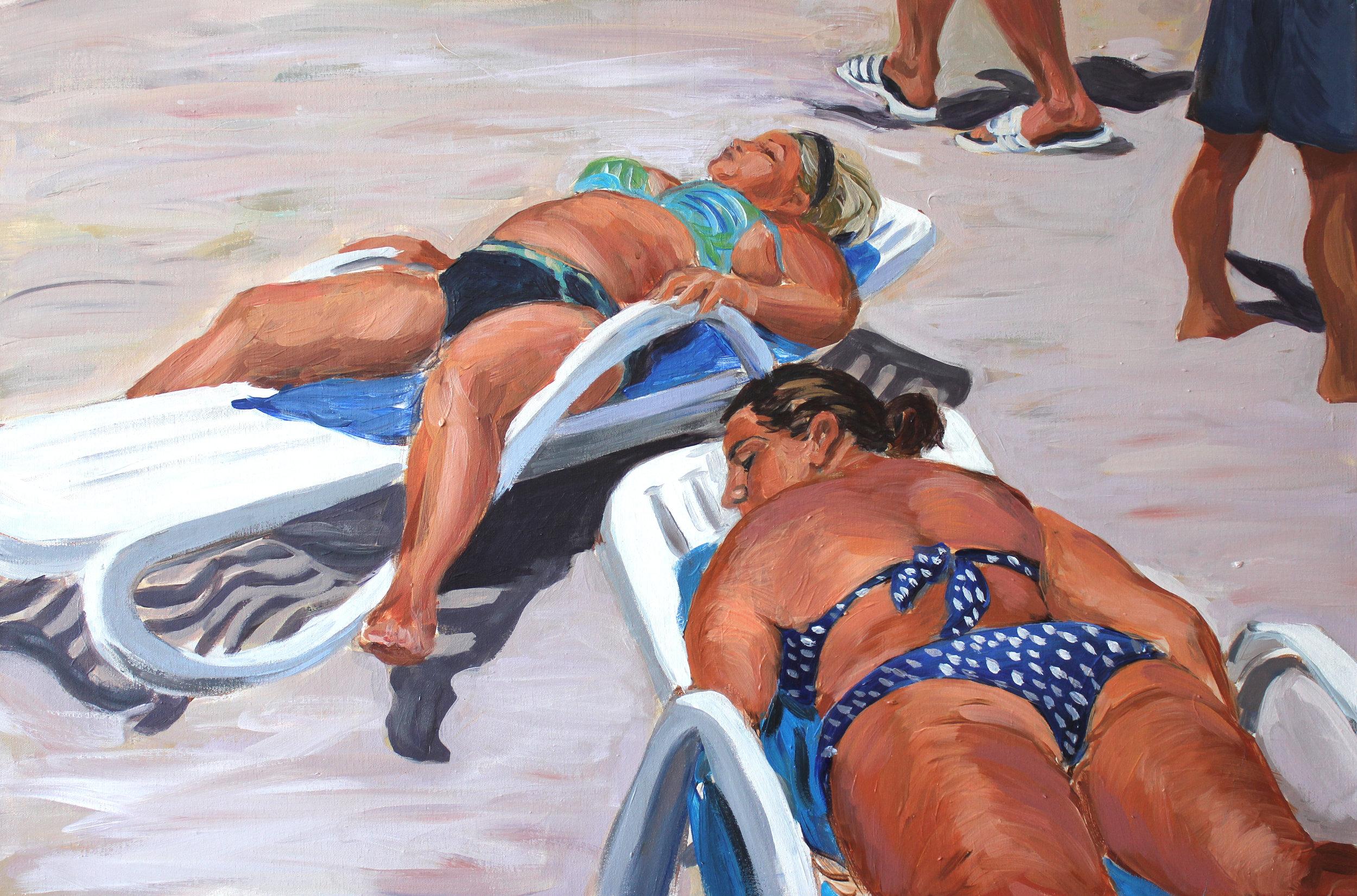 Beach Bums 24x36