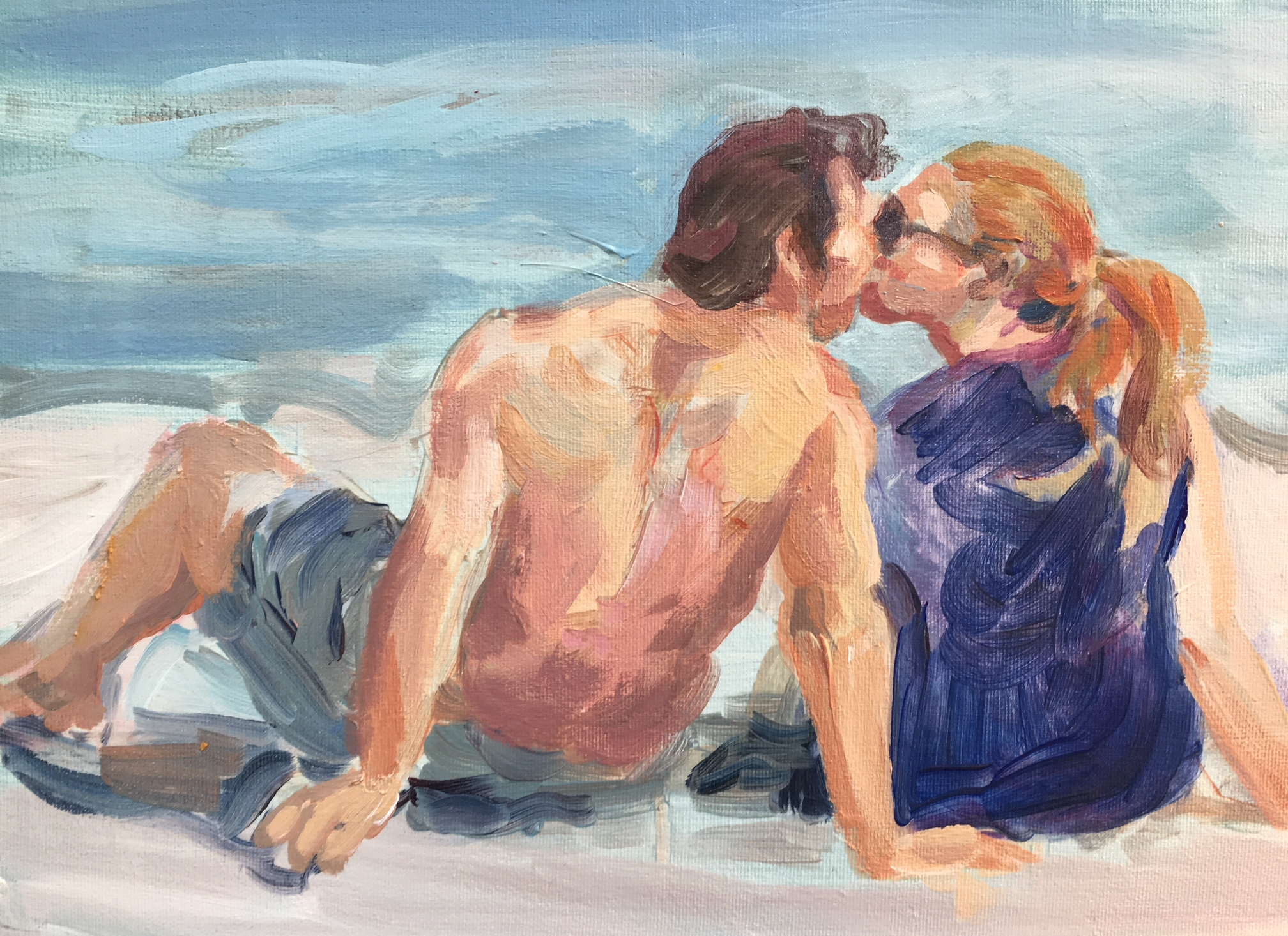 The Kiss 11 x 14