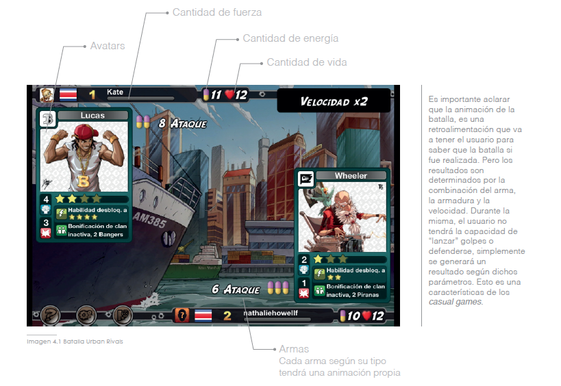 Three Role Play Games were analyzed: Turf Wars, Urban Rivals and Life is Magic