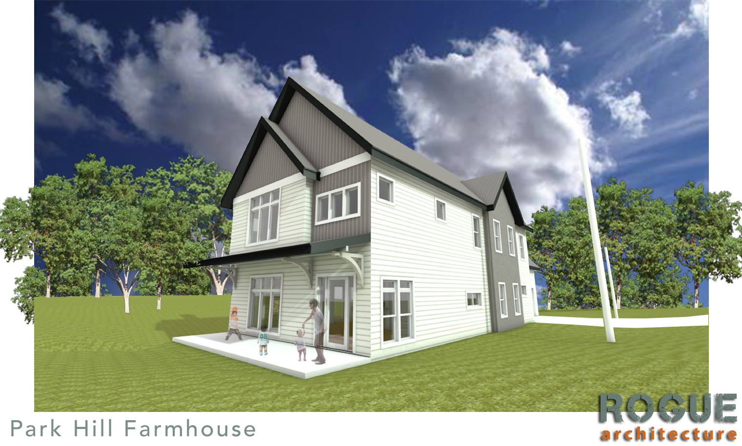Park Hill Farmhouse - New Single Family residence designed for the historic Park Hill neighborhood of North Little Rock. Construction to start early 2018.