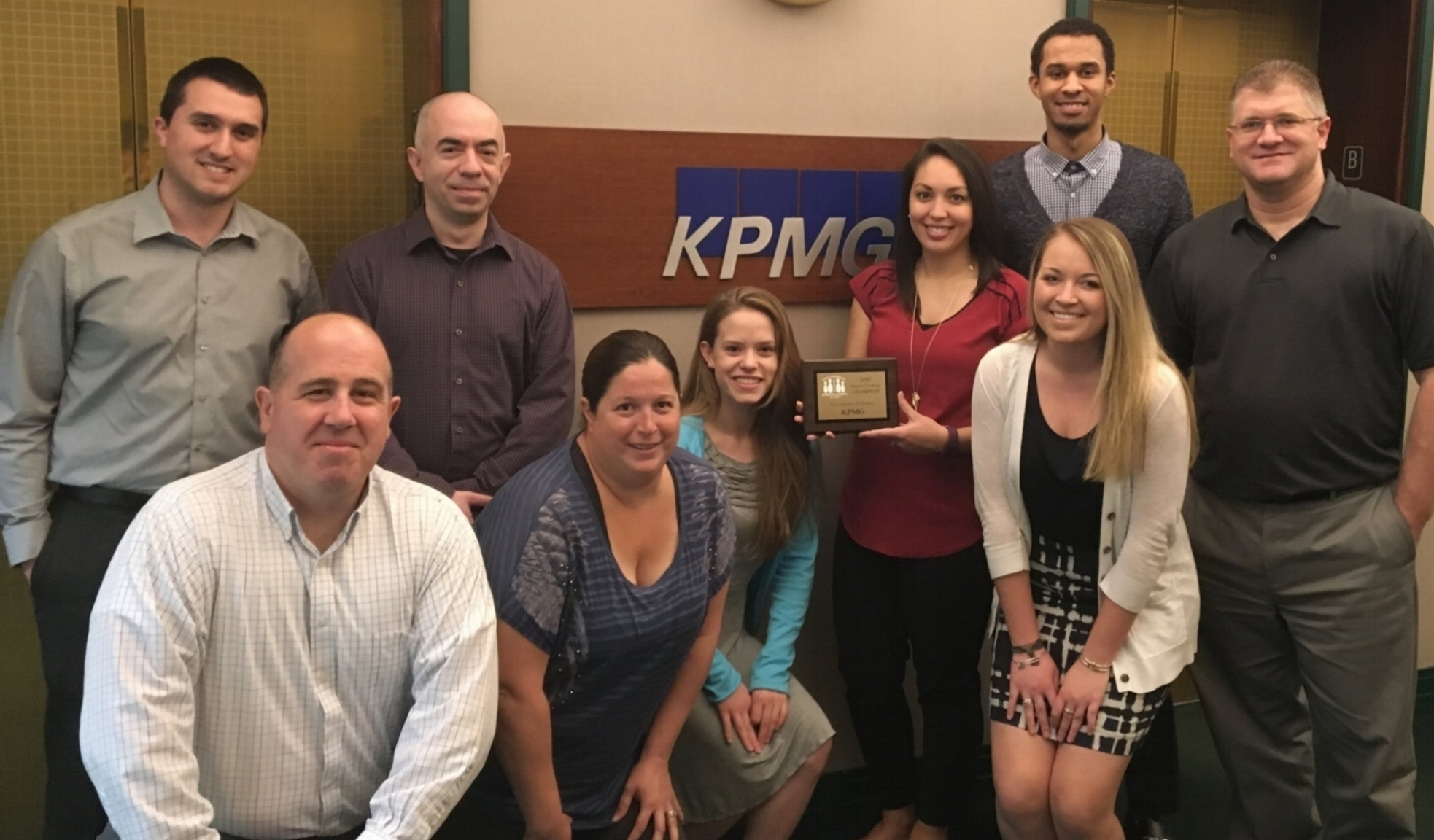 Accounting winners: KPMG.