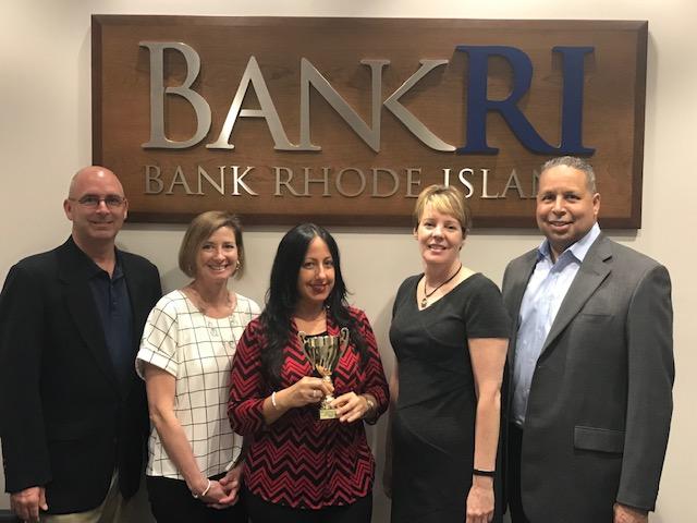 Top fundraising company- BankRI
