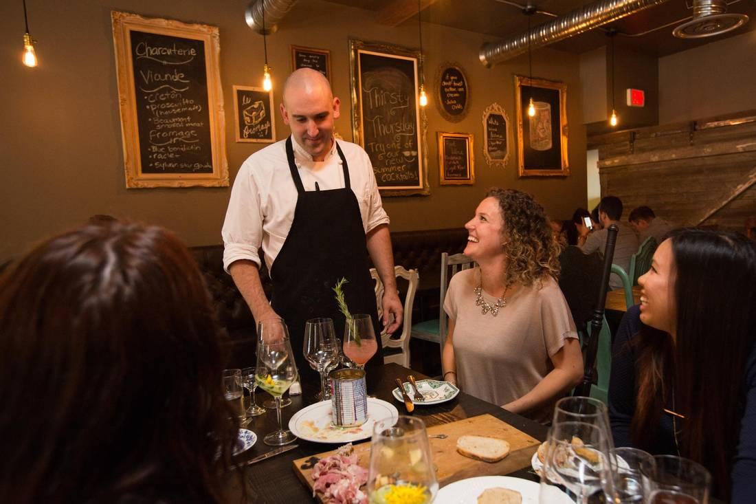 Chef Steven Brochu.   AMBER BRACKEN/FOR THE GLOBE AND MAIL