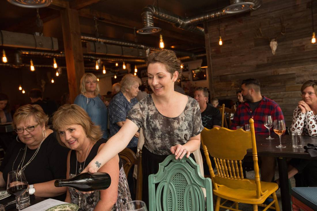 Chartier co-owner Sylvia Cheverie.   AMBER BRACKEN/FOR THE GLOBE AND MA