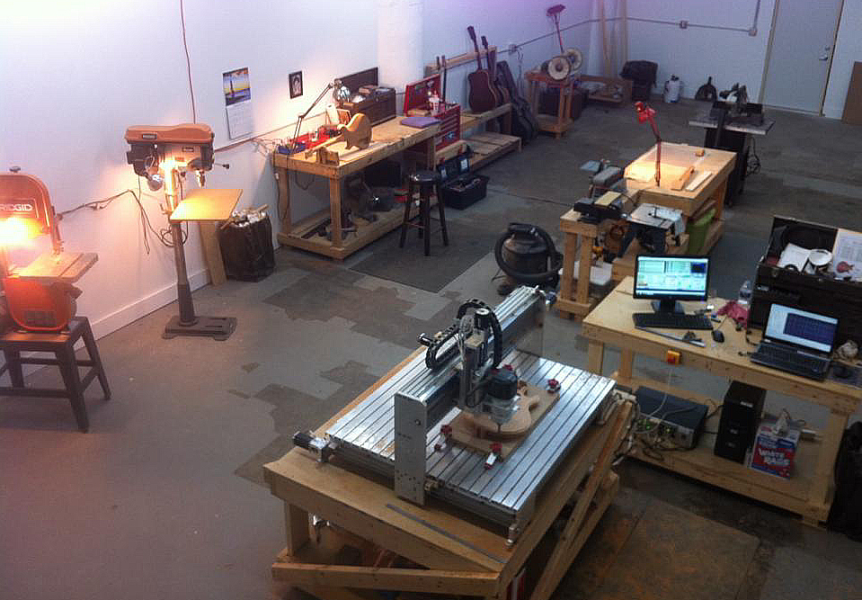 Some of our shop space.