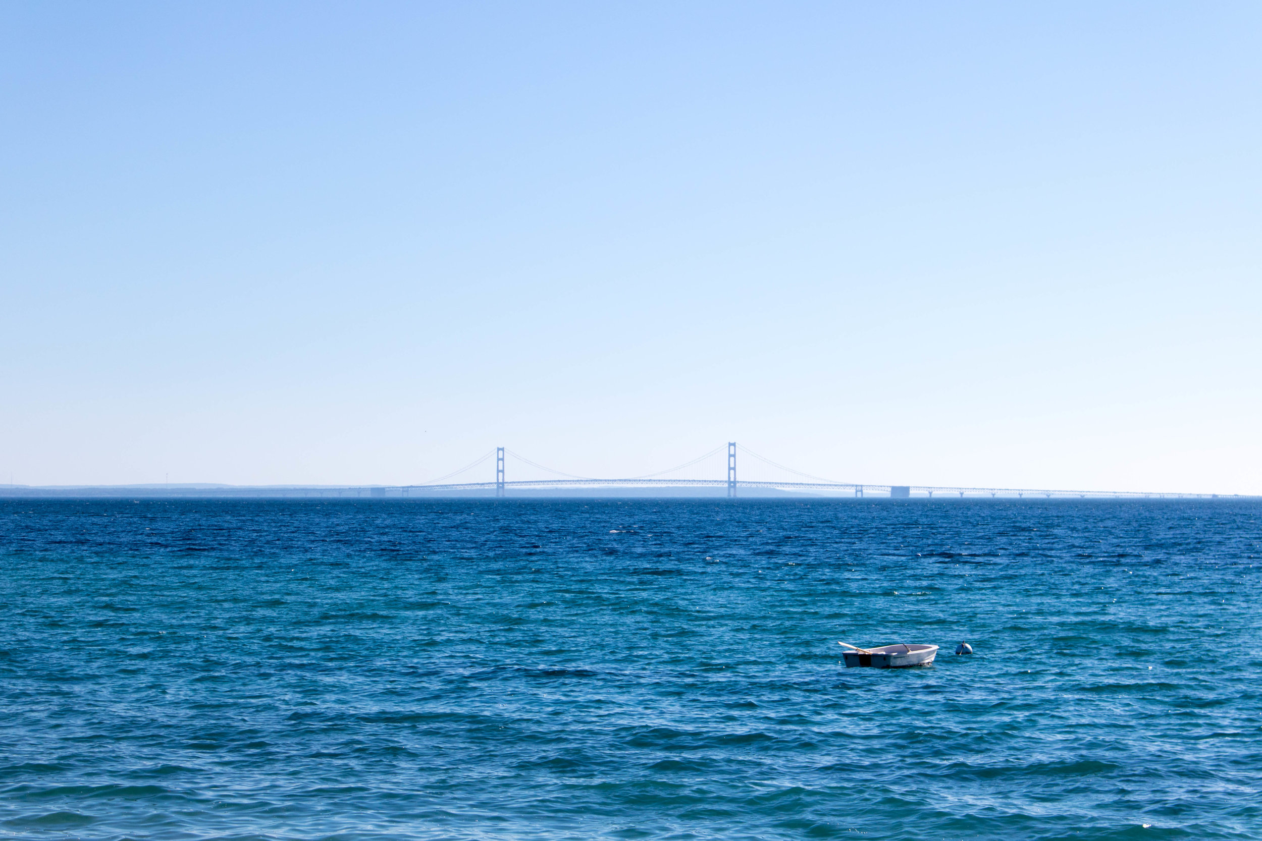 Row-Boat-Mackinac-Bridge-Mackinac-Island-Michigan-Photography