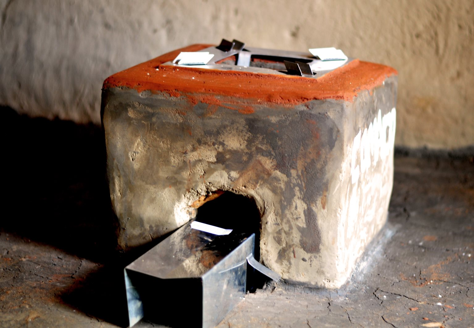 We support the installation and maintenance of locally produced energy efficient cookstoves with durable metal parts.