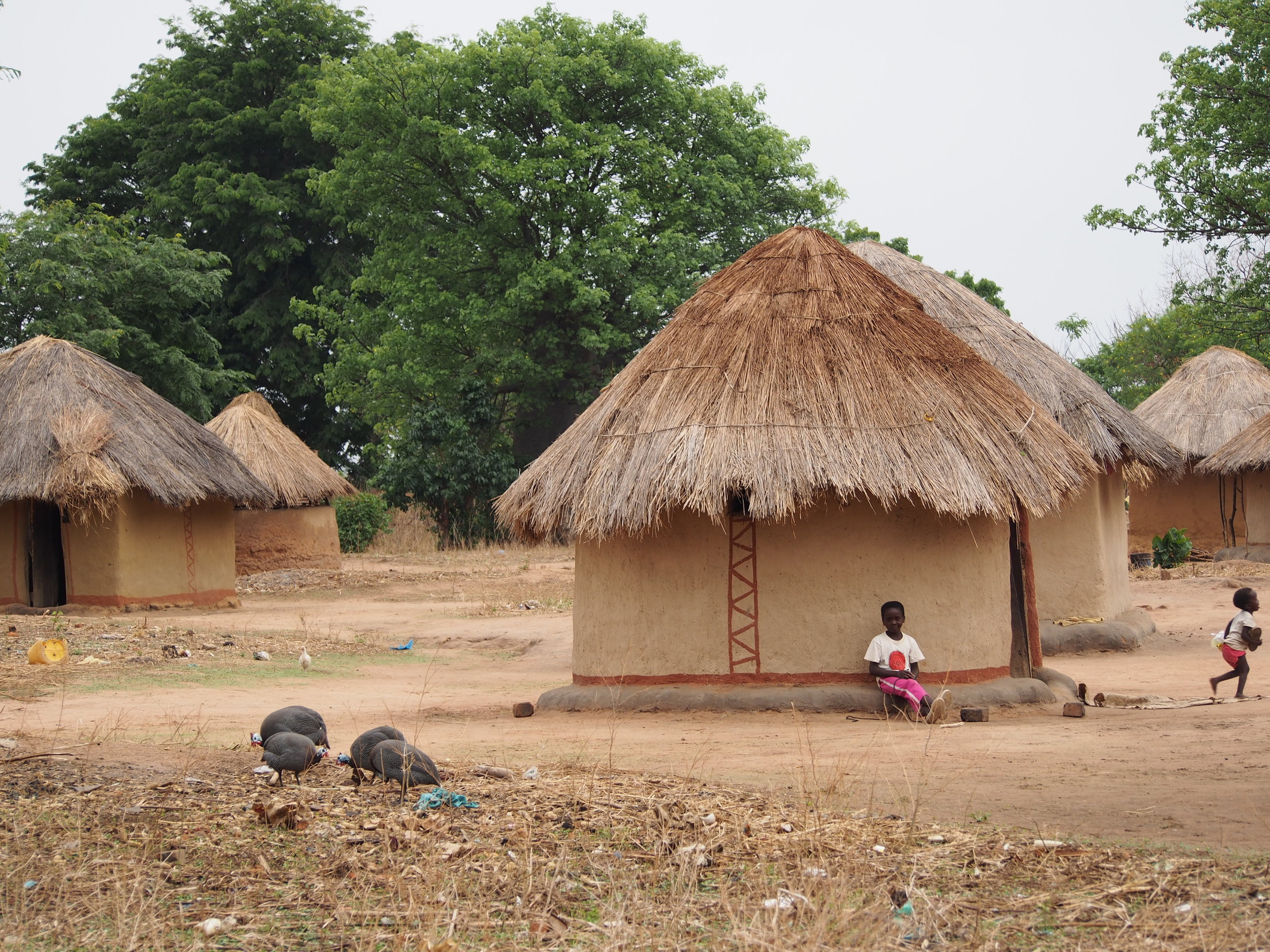 Manchinchi village, Kalindawalo Chiefdom, in the Luangwa Valley, Eastern Zambia