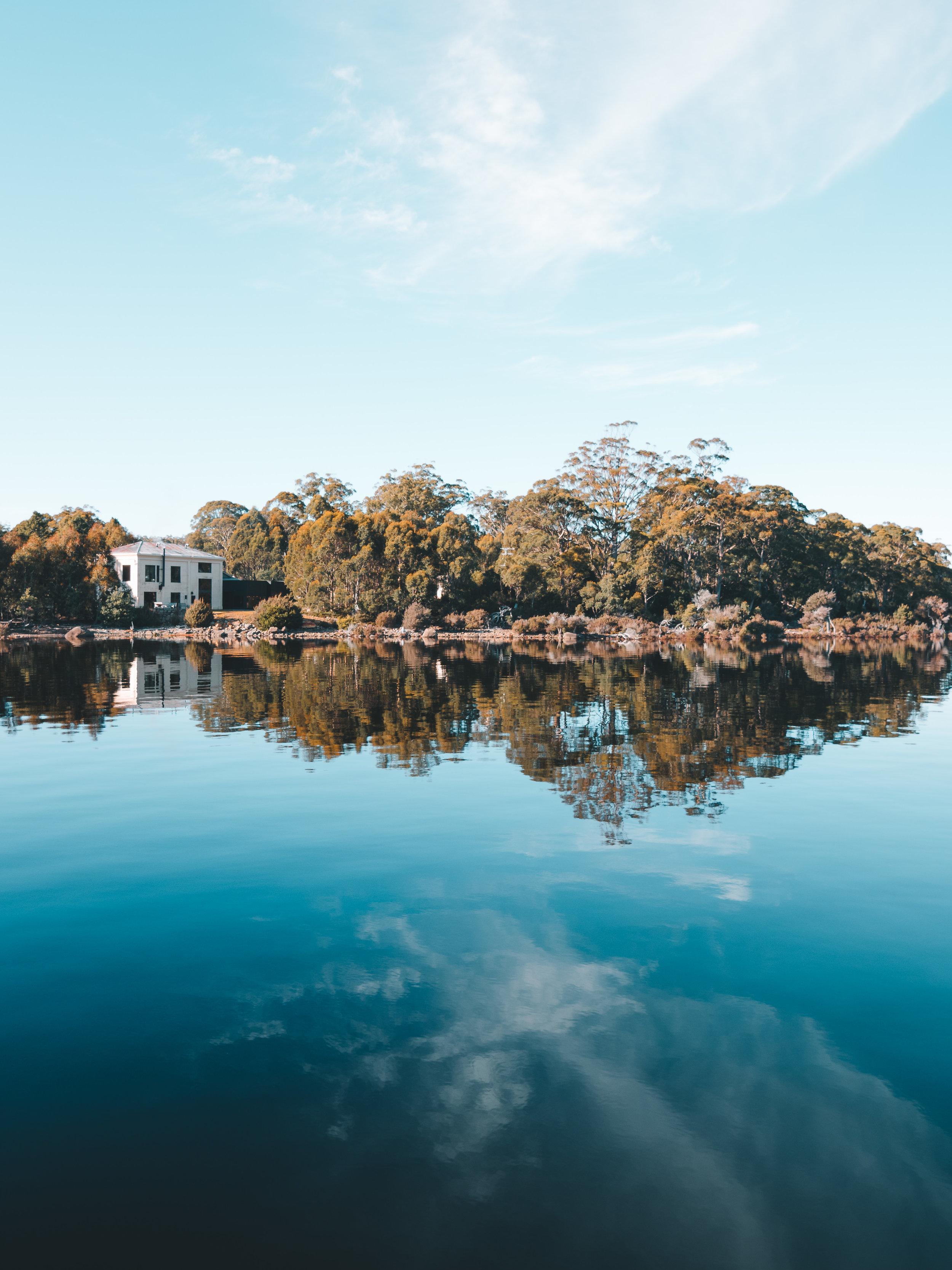 Pumphouse Point, Lake St Clair, Tasmania