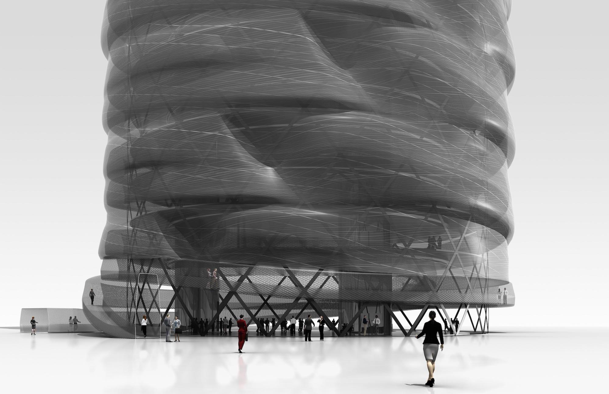 Carbon Tower by   Testa & Weiser