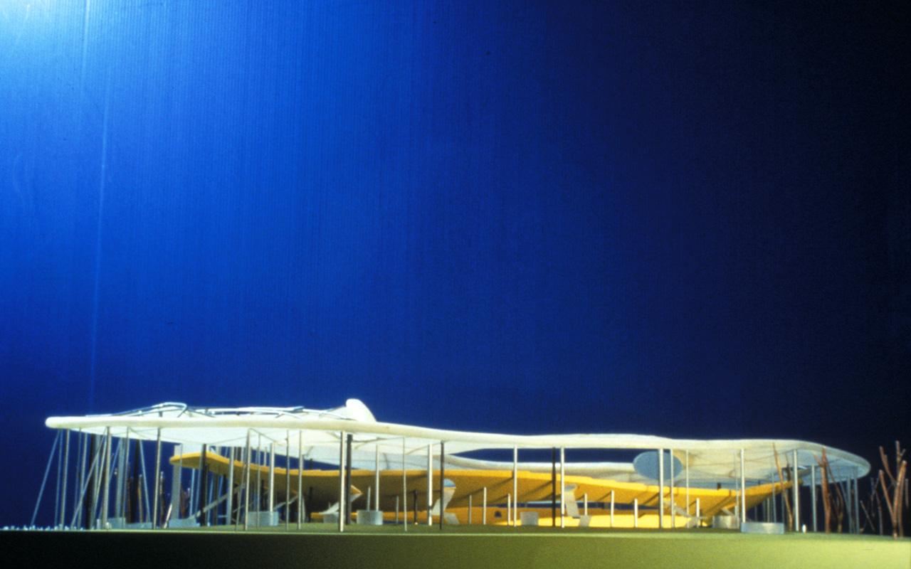 Chemnitz Stadium by  Peter Kulka and Ulrich Königs    Chemnitz, Germany