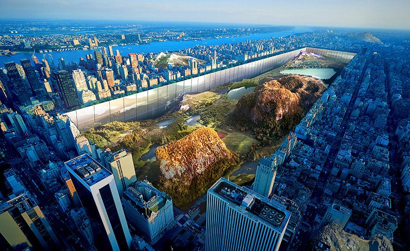 """New York Horizon """"sidescraper"""" by  Yitan Sun and Jianshi Wu"""