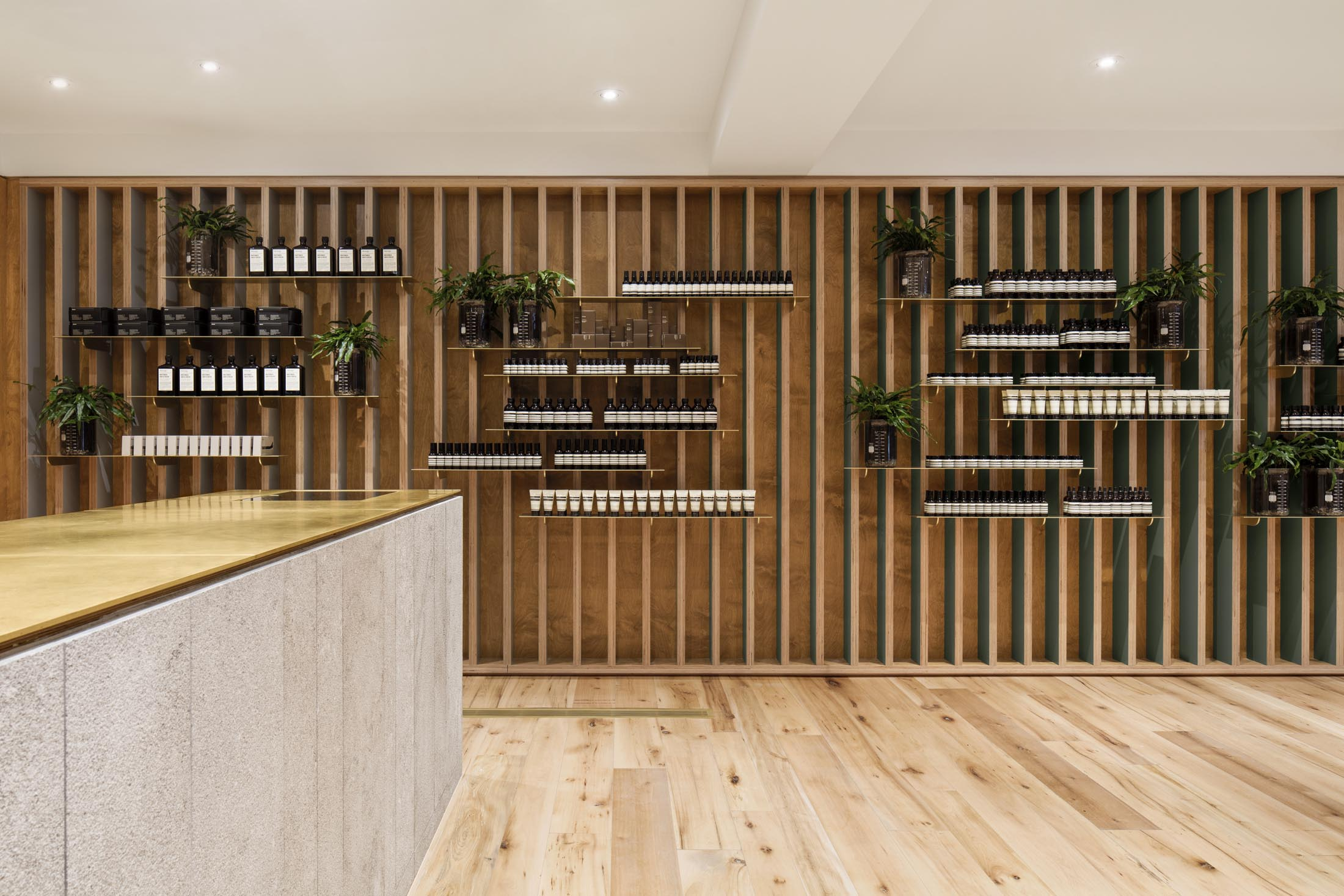 Aesop Mile End in Montreal by  N  ature Humaine    Credit: Adrien Williams