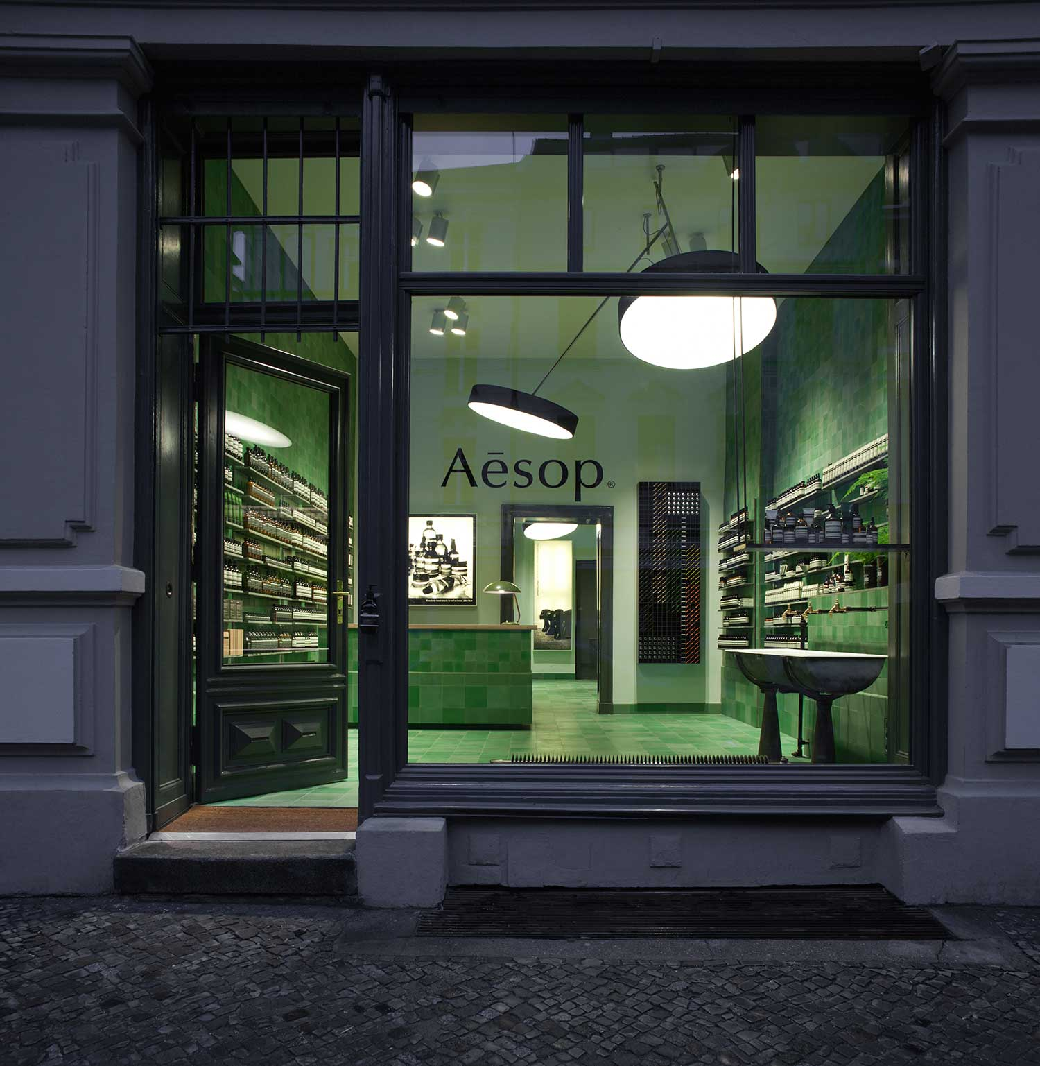 Aesop Mitte by    Weiss-Heiten  Berlin, Germany