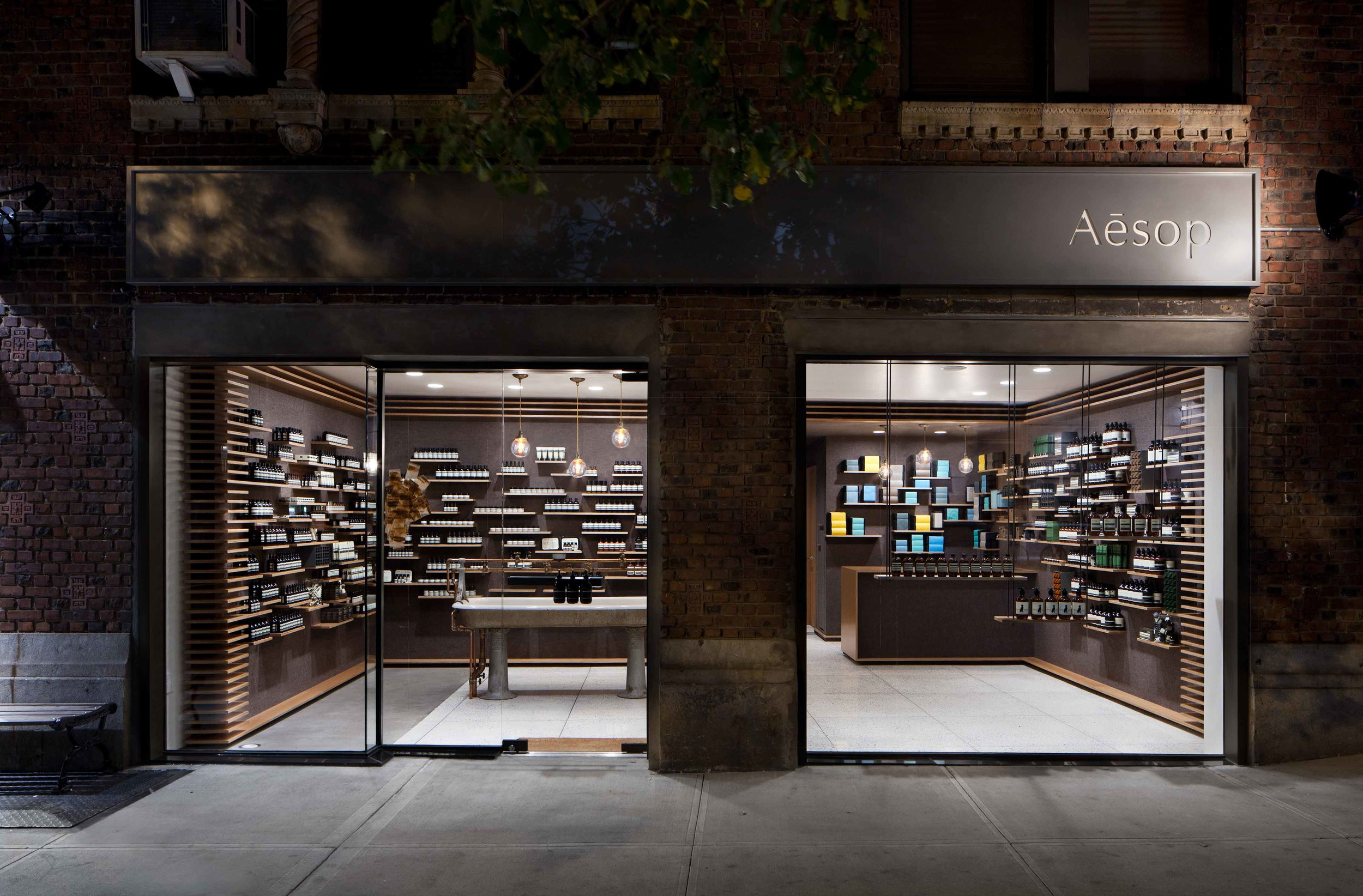 Aesop University Place by  Tacklebox Architecture  Greenwich Village, NYC, USA   Photo: Juliana Sohn