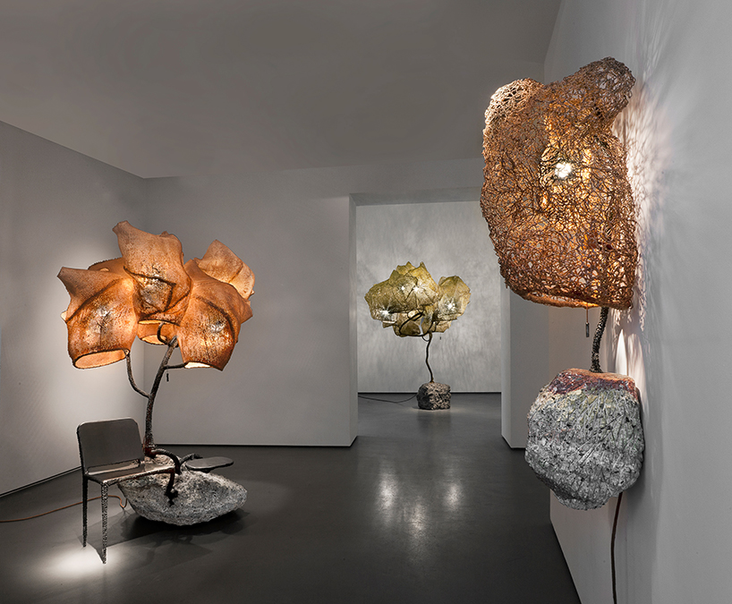 Nacho Carbonell at the Carpenters Workshop Gallery in Paris