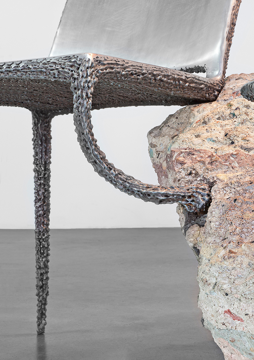 Nacho Carbonell at the Carpenters Workshop Gallery in Paris 6