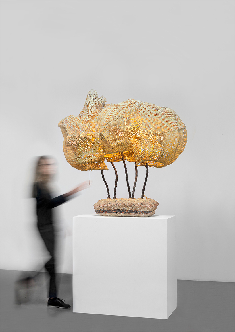 Nacho Carbonell at the Carpenters Workshop Gallery in Paris 13