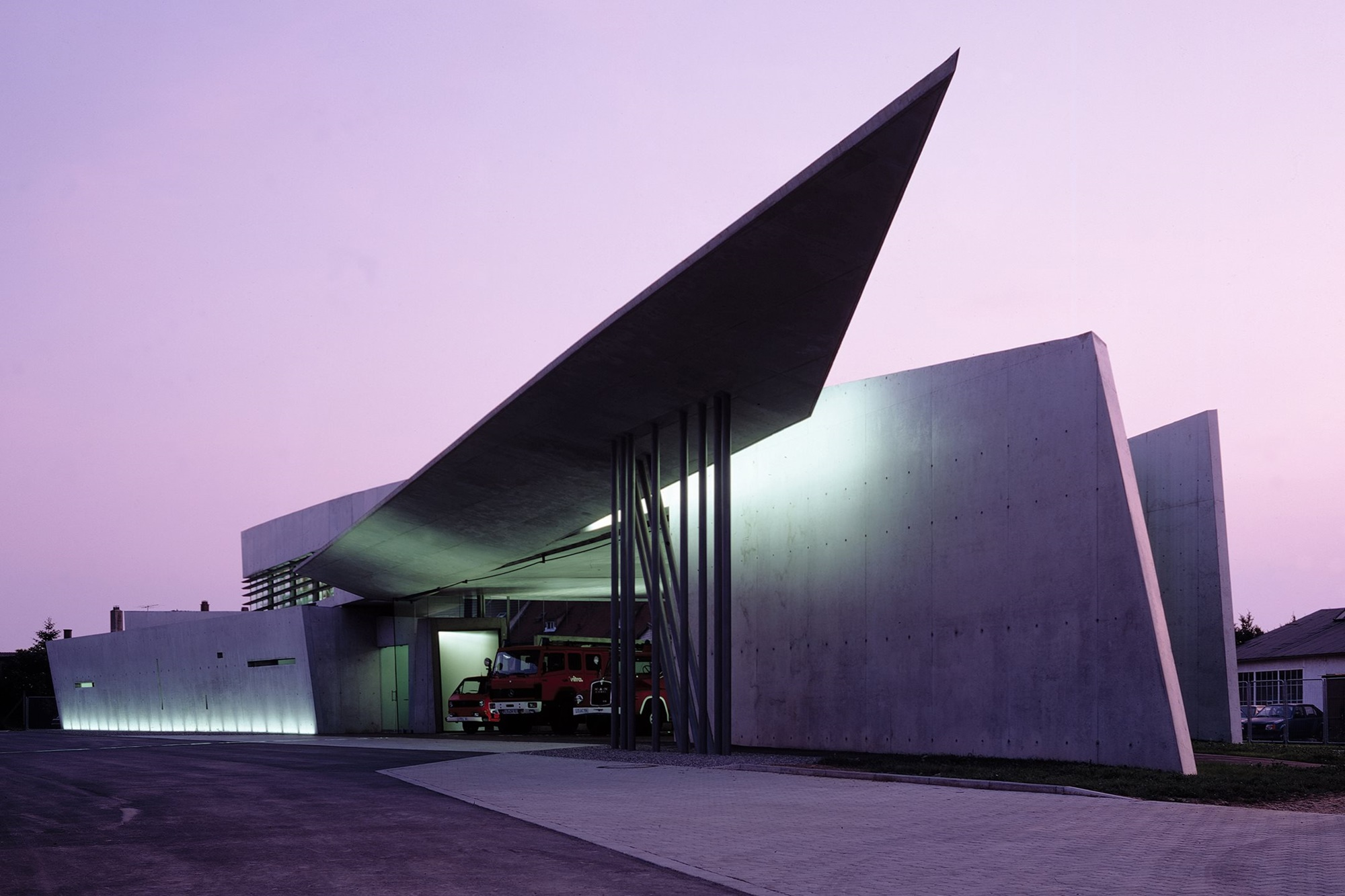 Vitra Fire Station by Zaha Hadid Architects Photograph by Christian Richters