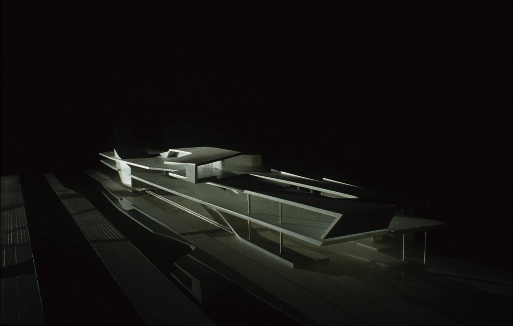 New Campus Center by  Zaha Hadid Architects   Model Photography by Zaha Hadid Architects