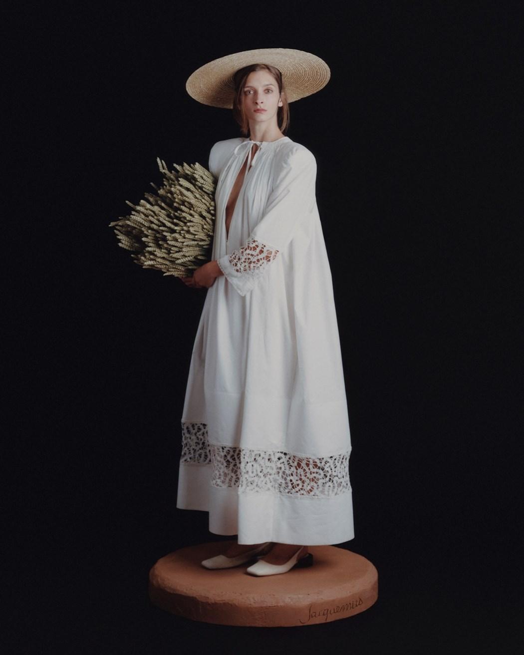La Femme au Blé (The Woman with Wheat) Photography David Luraschi, artistic direction Simon Porte Jacquemus