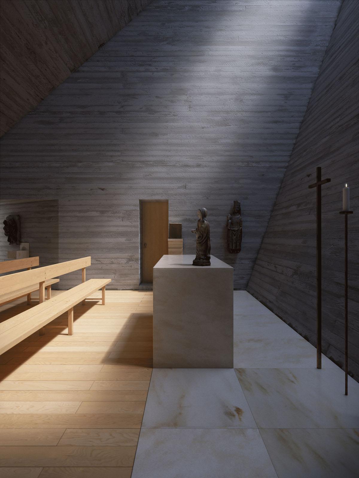 Chapel by Joaquim Portela Arquitetos - Anniversary Magazine