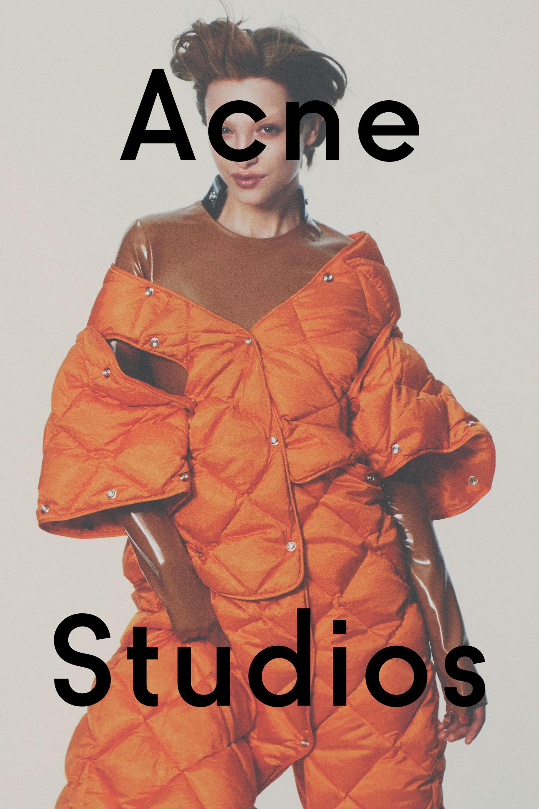 David Sims On a Classical Fashion Campaign for Acne Studios - Anniversary Magazine