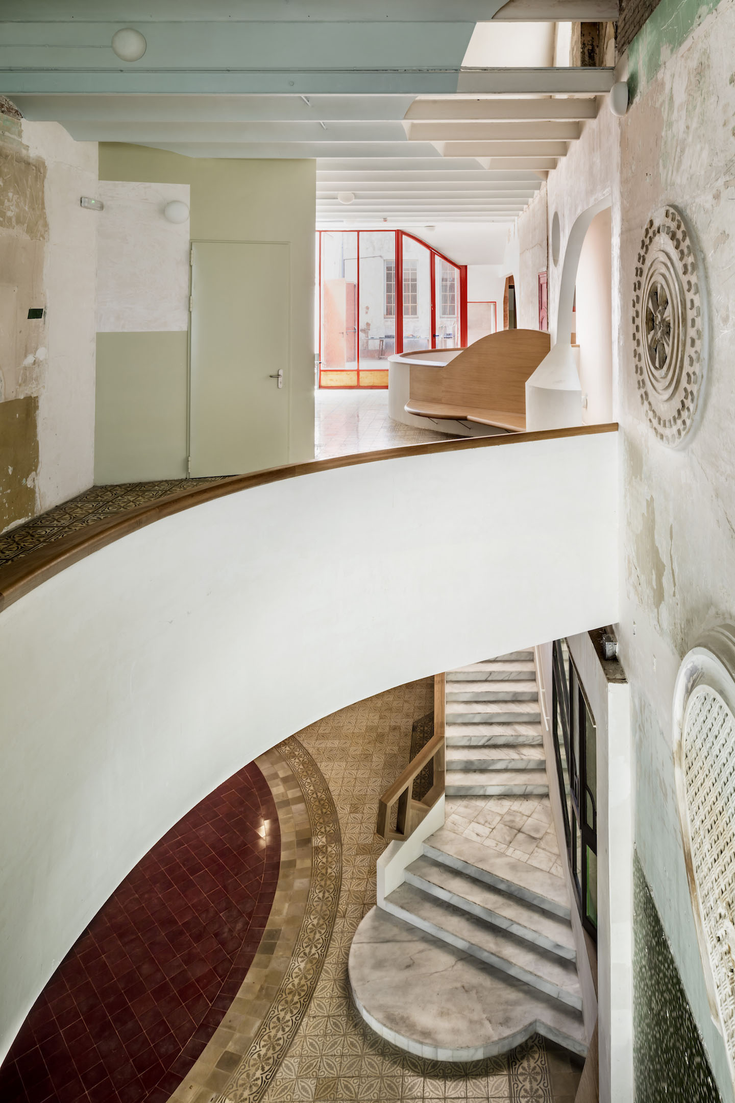 FLORES PRAT ARCHITECTS SALA BECKETT