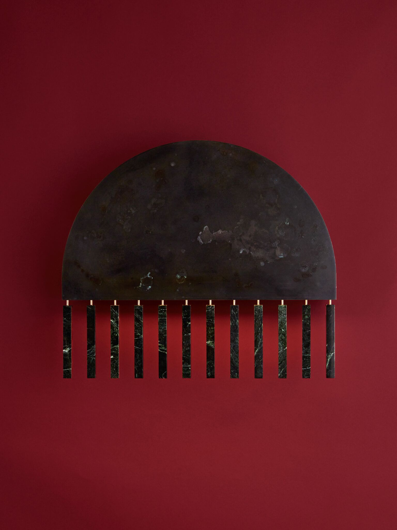 PELLE Design Studio - The  Dark Moon Wall Lamp