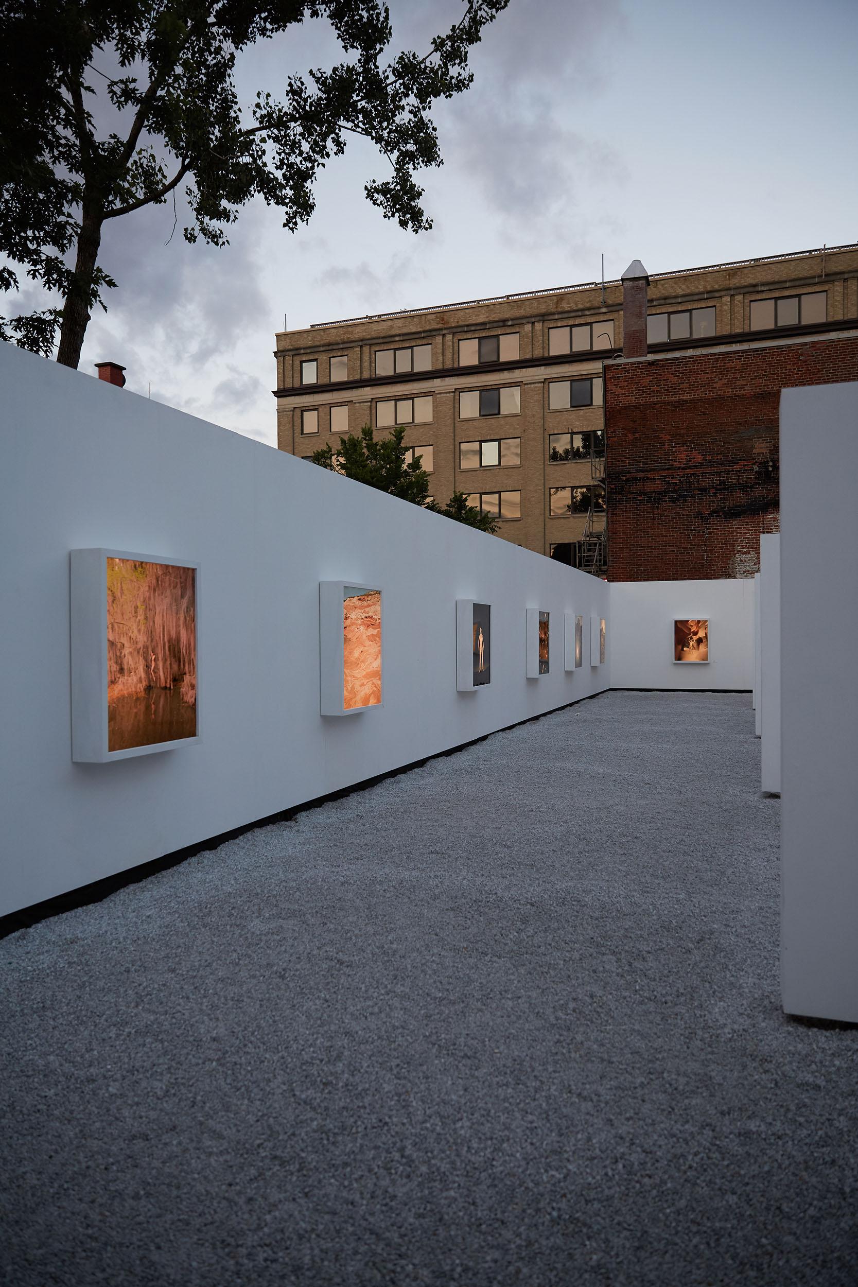 Galerie Blanc —Photo by Alex Lesage,  threefold agency