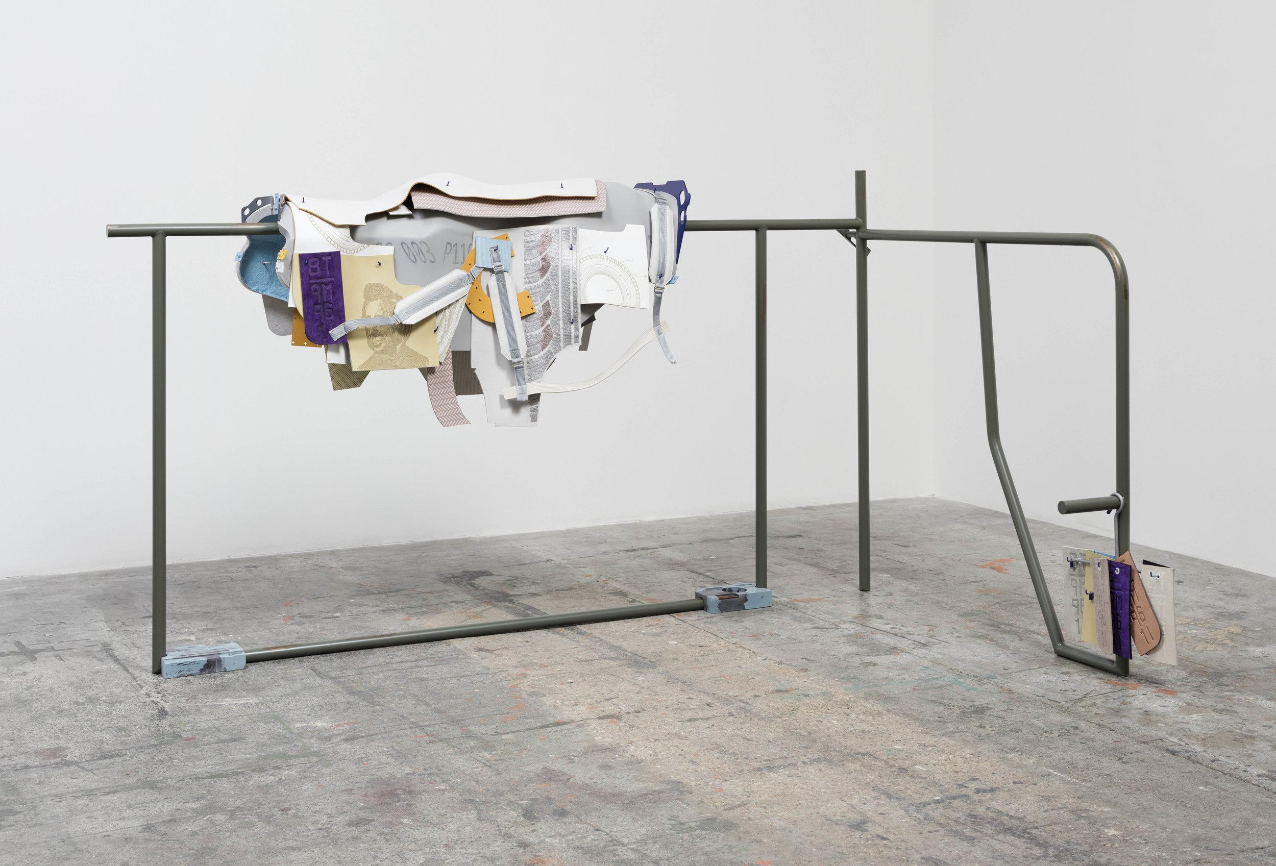 Magali Reus,  Mt. Lugs , 2017.© Magali Reus. Courtesy Galerie Eva Presenhuber, Zurich / New York and The approach, London