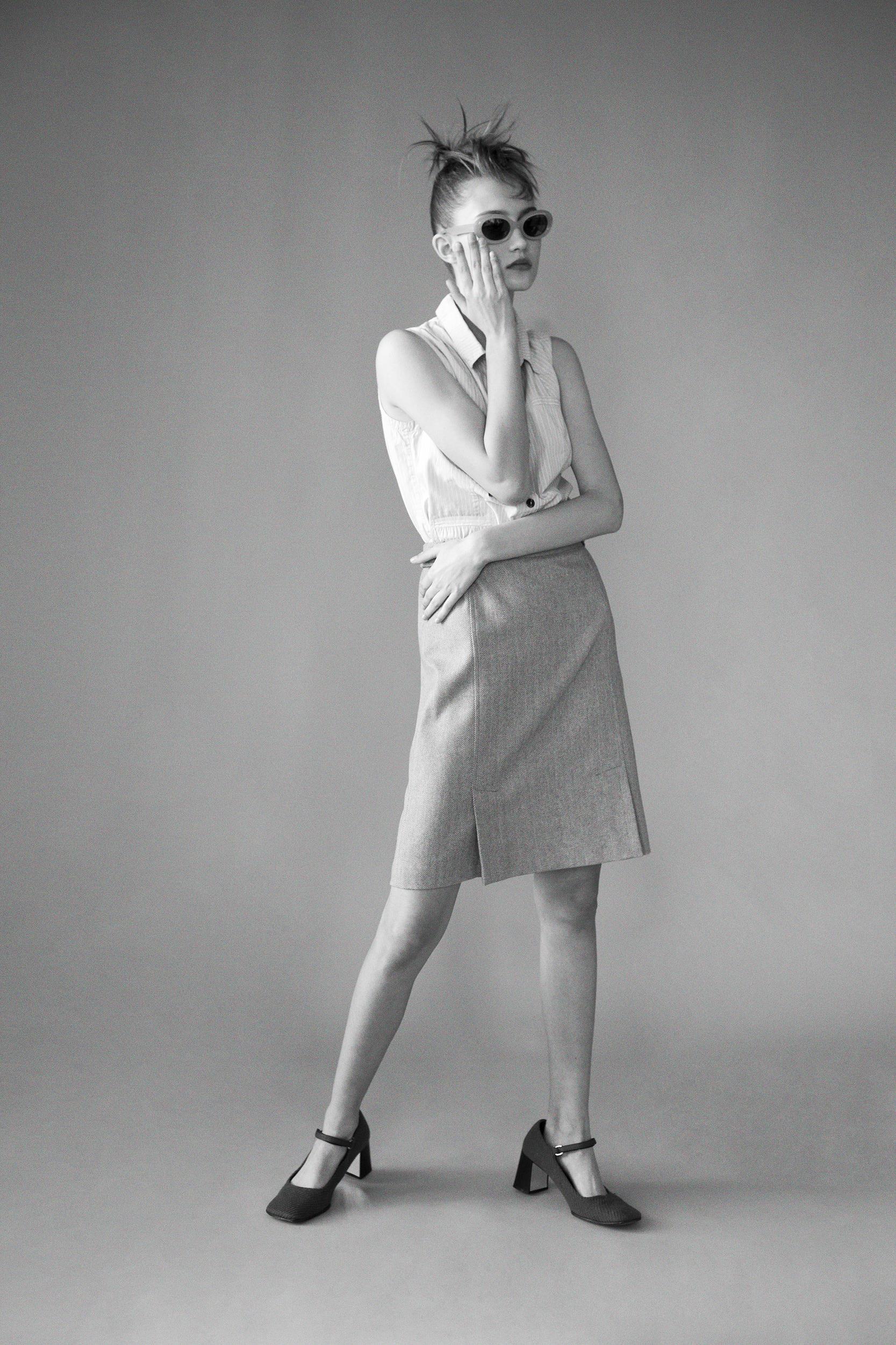 Photographer Louise Thornfeldt presents Vika on Anniversary Magazine