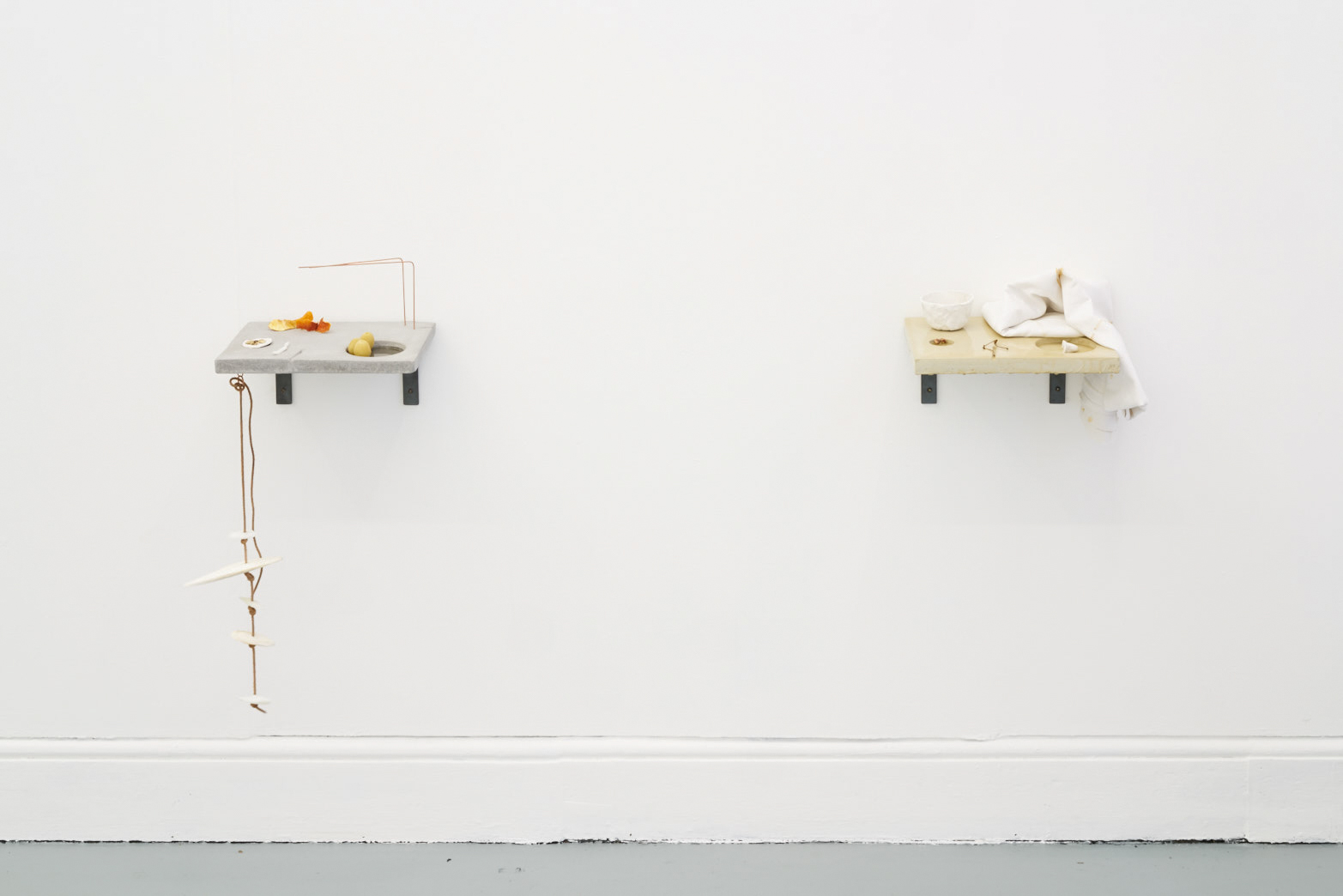 Victoria Adam,  Personal unique pH (potpourri),  2018 (left);  Personal unique pH,  2015.