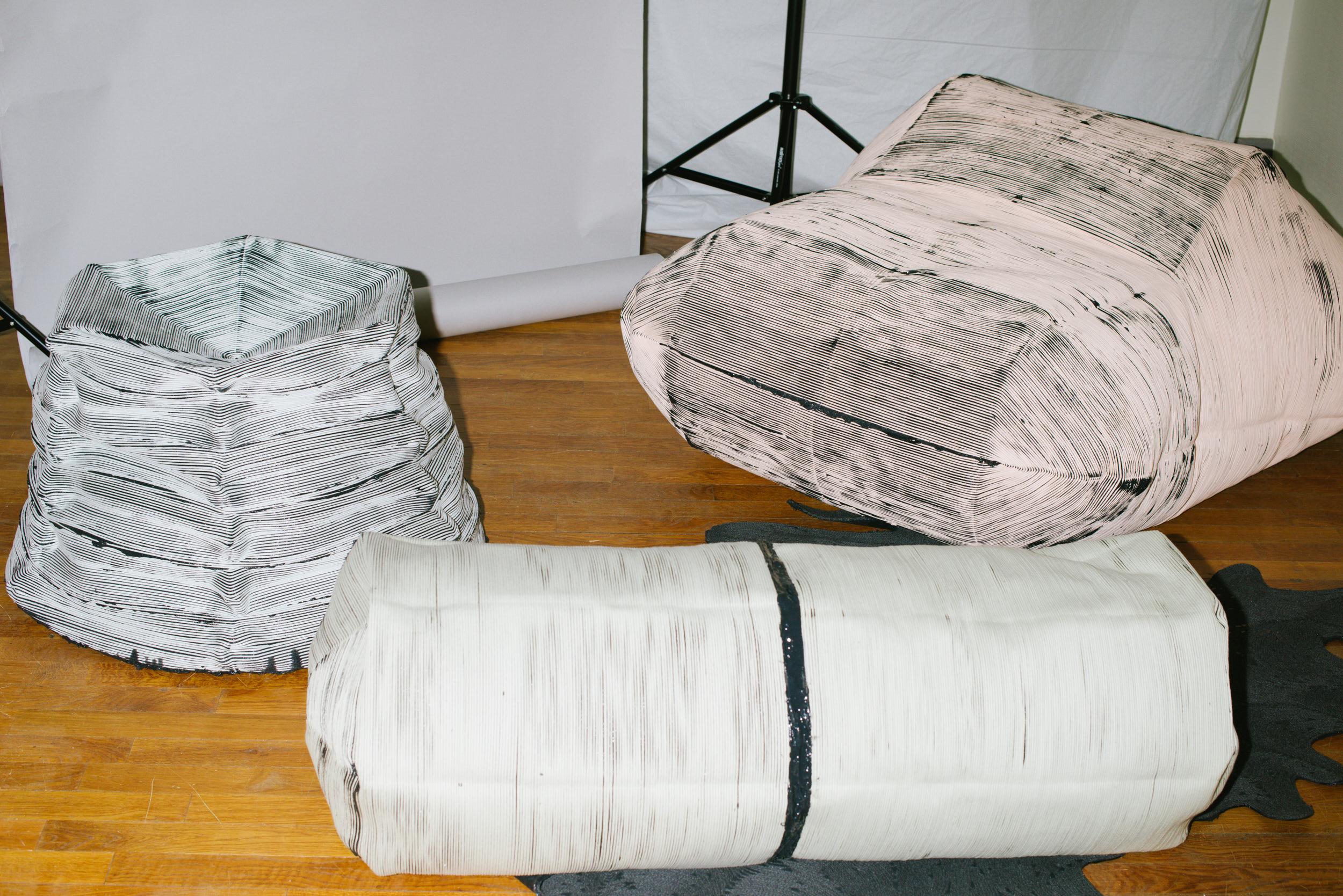 Regen seating elements - Photos by Vanni Bassetti