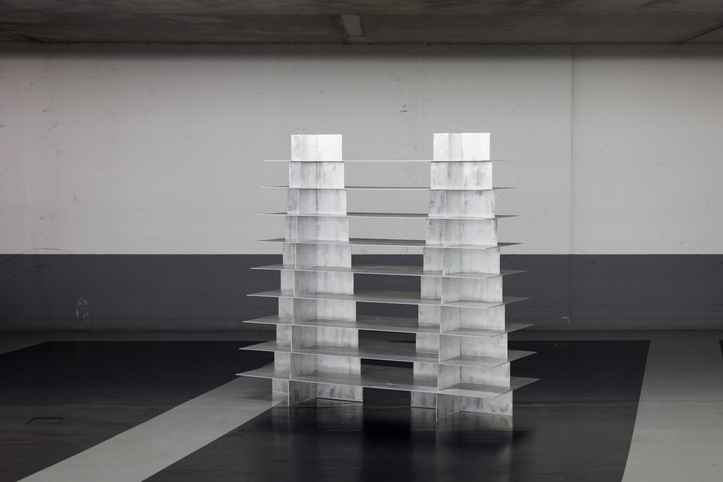 Double Pyramid, Collaboration with  Bram Vanderbeke  - Photo by Core Studio