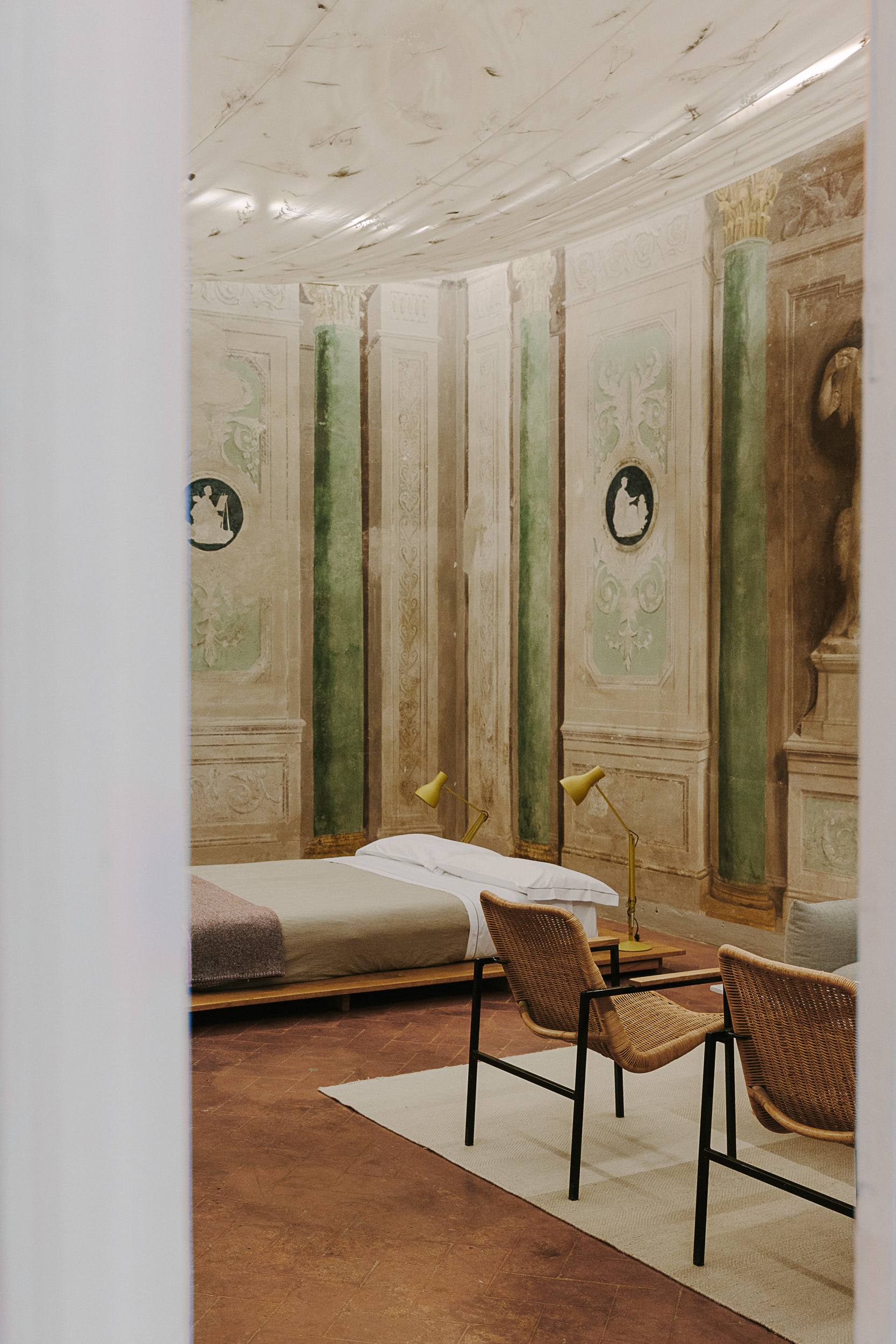 FRAGMENTS : Ksenia Tokmakova and Marinika Sadgyan Explore Italian Memories at Numeroventi, Florence on Anniversary Magazine