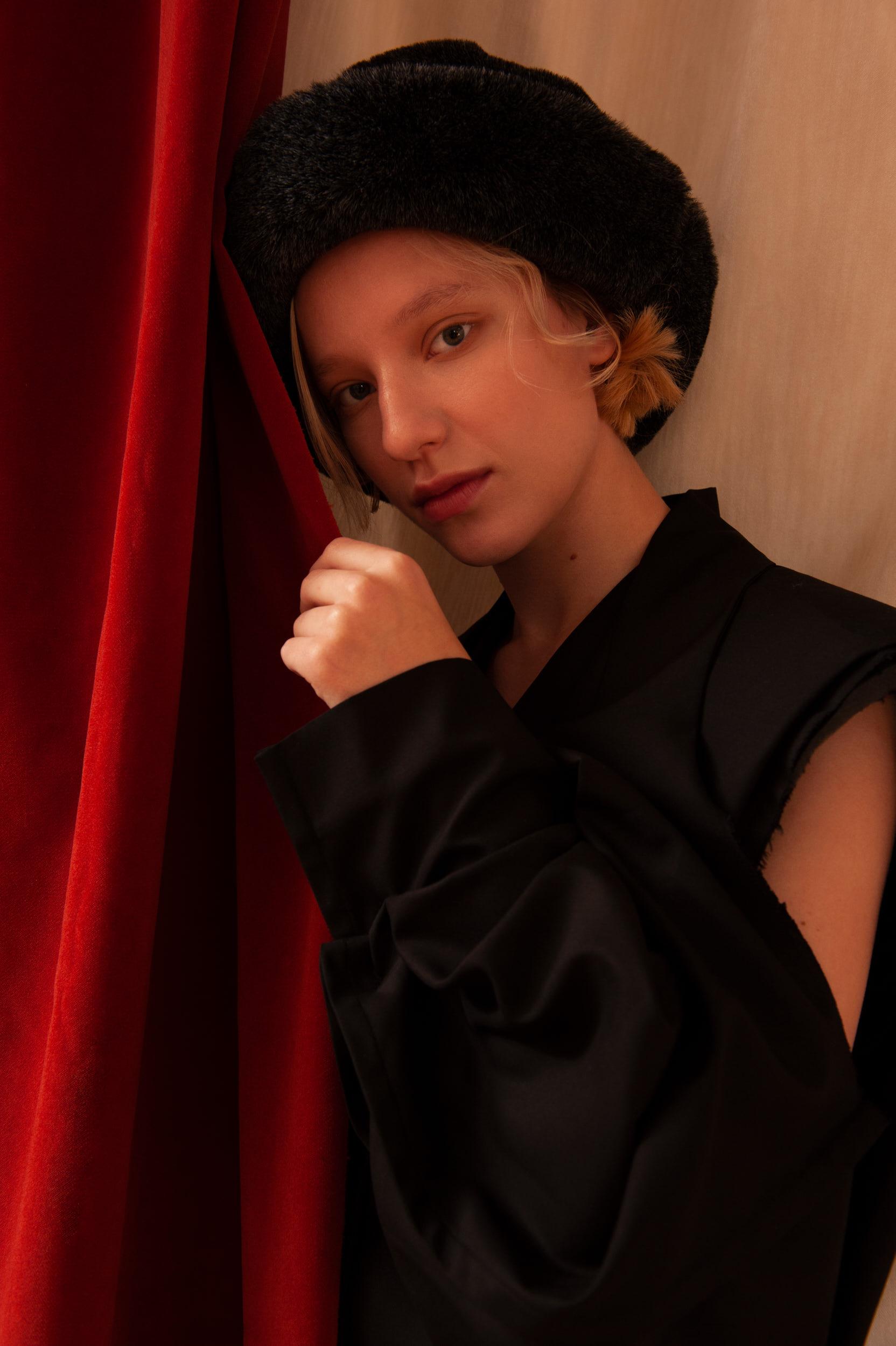 Hat - Vintage, Jacket - Litkovskaya.