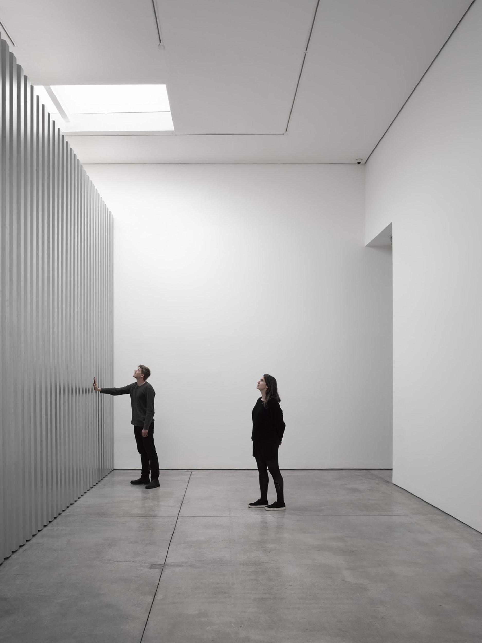 Random Access Memory by Miroslaw Balka Presented at White Cube, London on Anniversary Magazine
