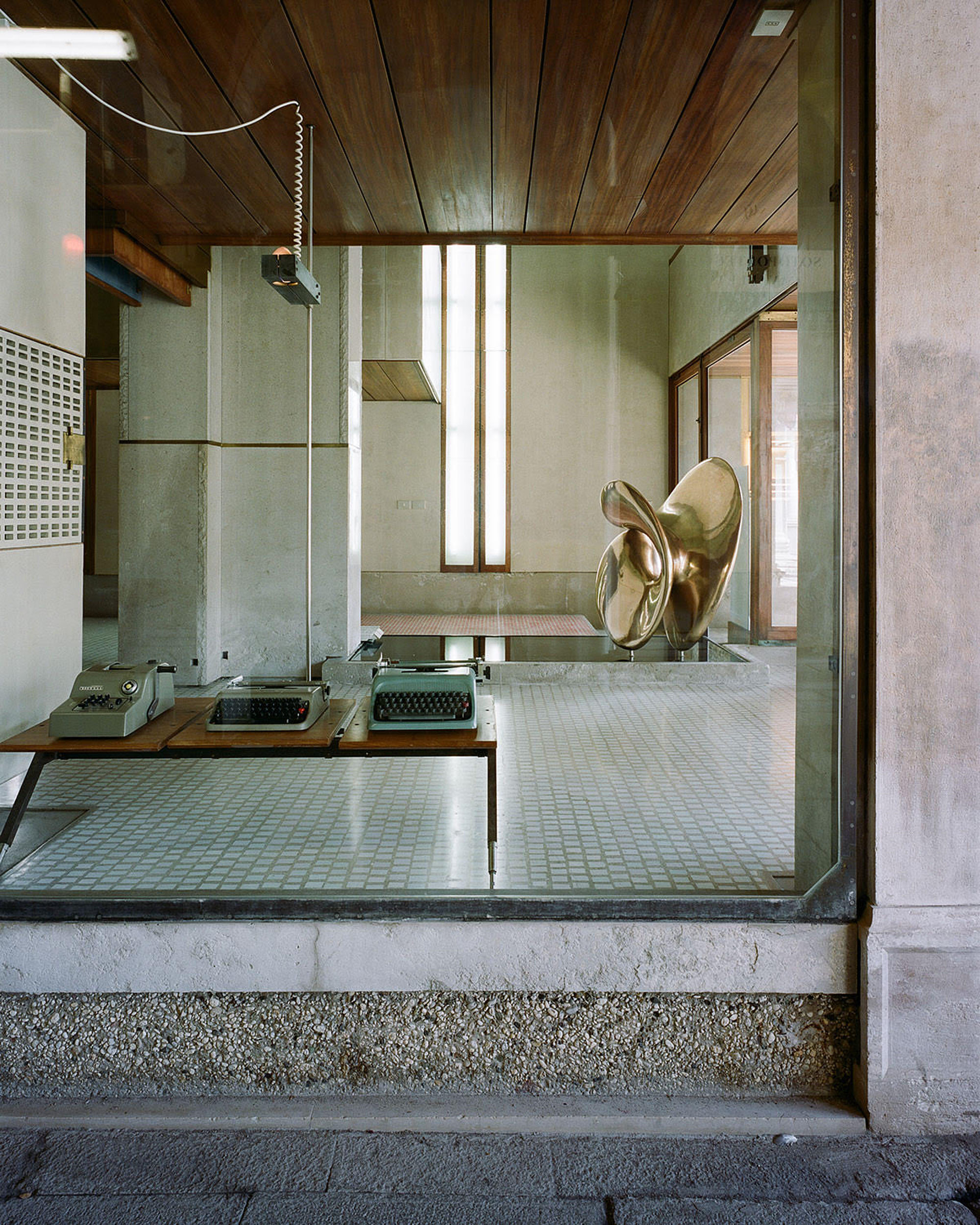 The Olivetti Museum Captured by Gabriele Bortoluzzi on Anniversary Magazine