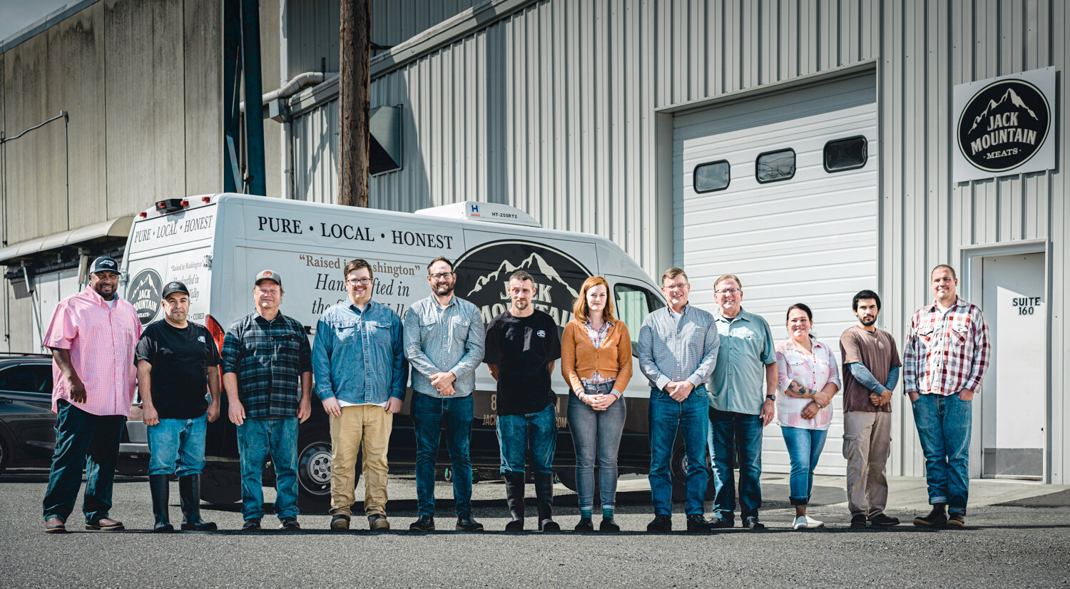 The Jack Mountain Meats team