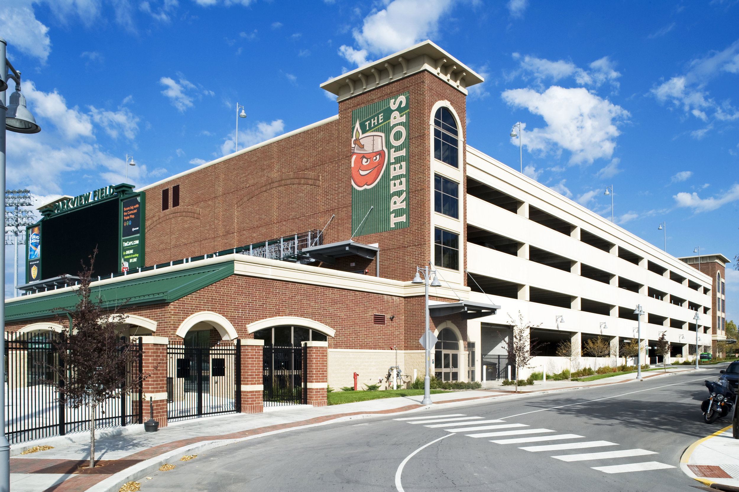 Harrison Square Parking Garage