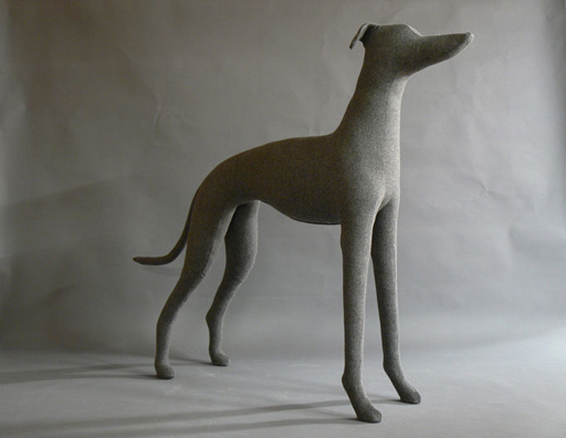 Greyhound Dog Mannequin