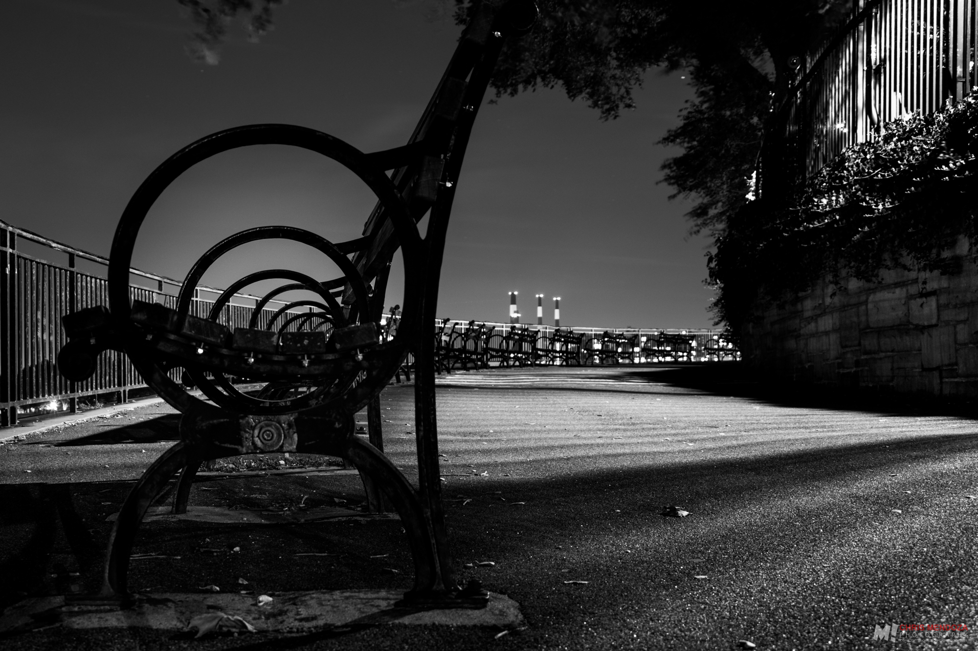 """""""Night Abstraction in Black & White"""""""