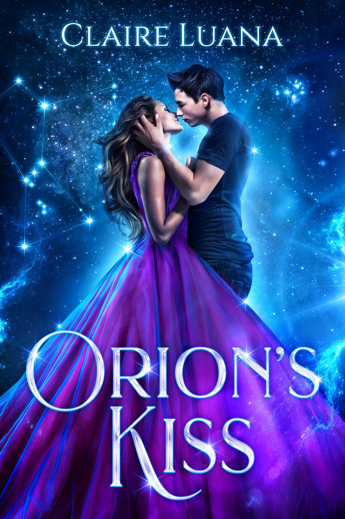 ORION'S KISS   Claire Luana    Meriah will do whatever it takes to save her sisters from a deadly ancient curse. Even if it means killing the cutest guy she's met all year.  Unless she can find another way...