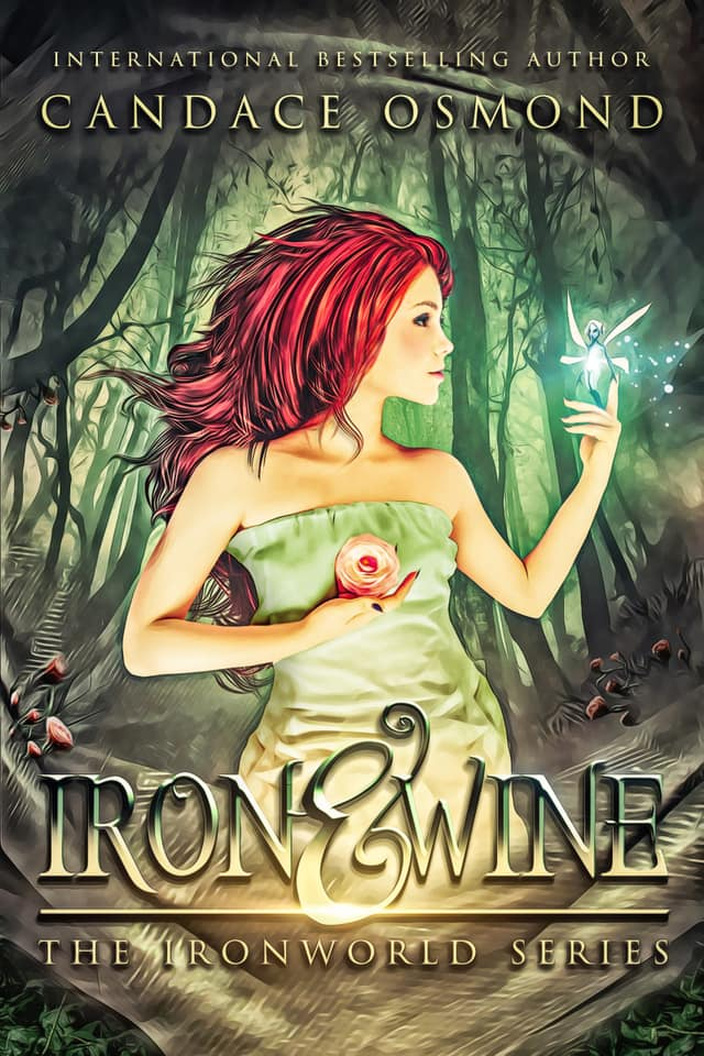 IRON & WINE   Candace Osmond    Three mythical races. Decades of ancient war. And the love of one girl to save them all.  With an evil fairy Hell-bent on her demise and decades of a mythical war coming to fruition...Avery must find a way to help her magical friends end the ancient feud before the effects spill over into her own world.  But when the love of a gorgeous Australian vampire turns her life upside down, Avery finds her heart hanging in the balance...as well as her humanity.