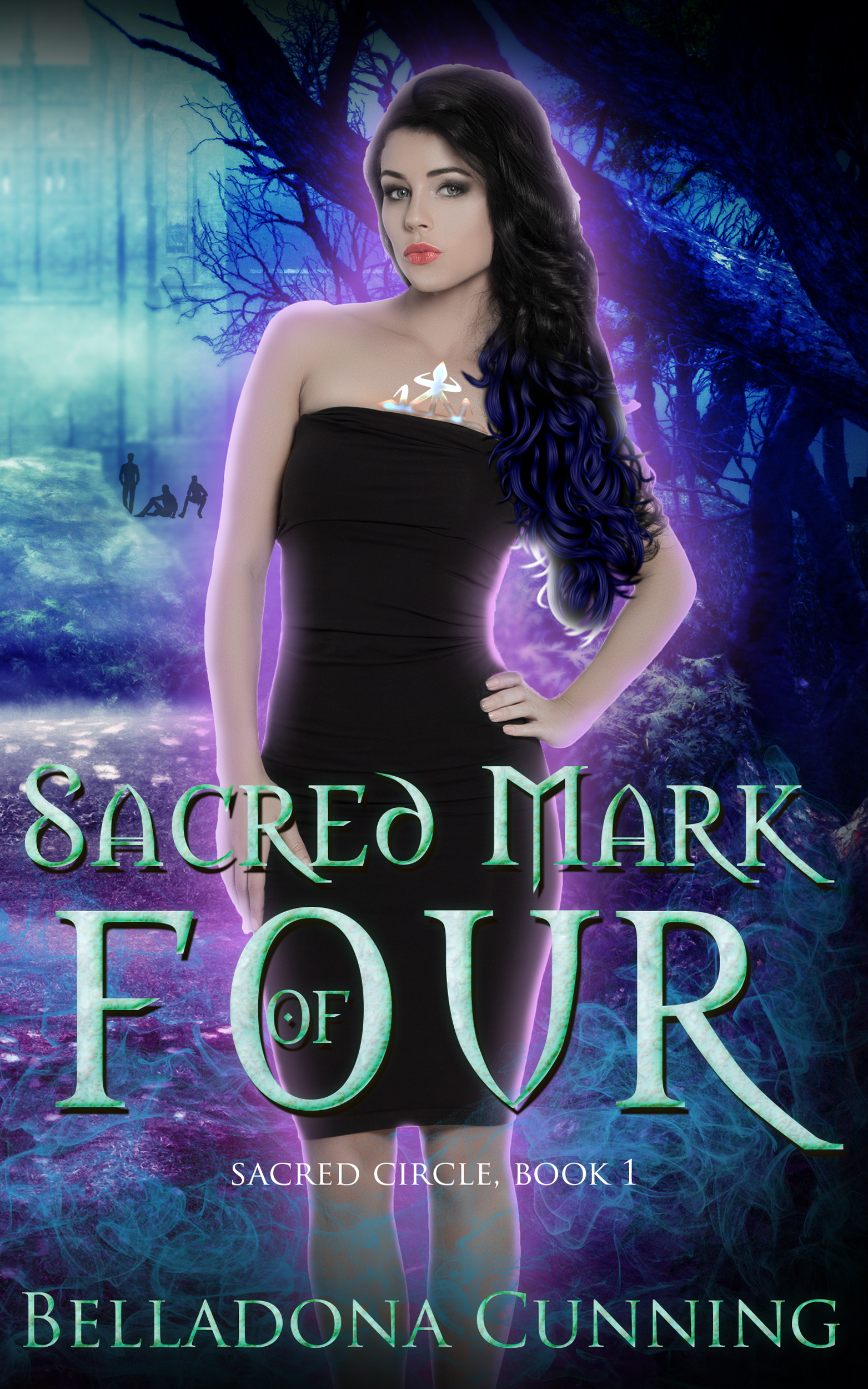 SACRED MARK OF FOUR   Belladona Cunning    An outsider in her world, Alana can't help the feeling of something missing. It isn't until she meets them that she finally understands why.  She is their anchor in the dark, and they are her warriors of light. They live for her; they would die for her. And if she can't change her dreams, that is exactly what is going to happen.