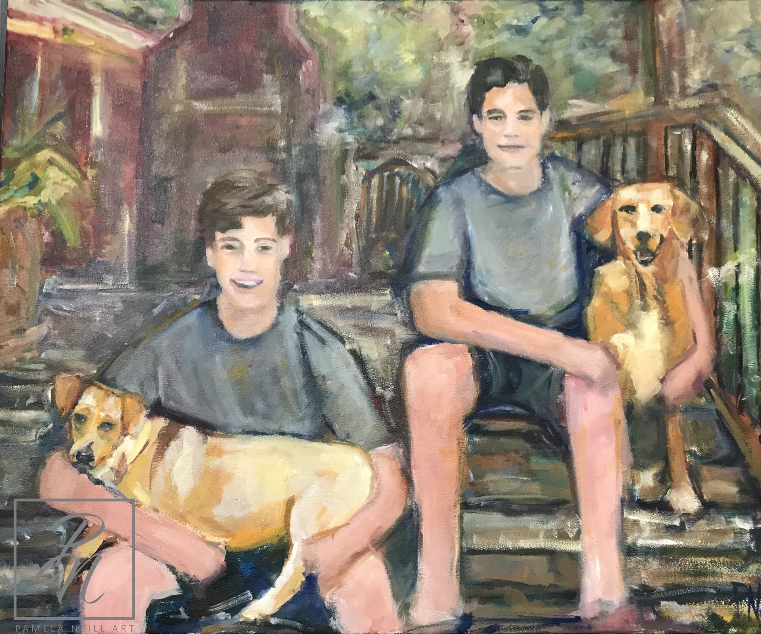 The Boys and Their Dogs