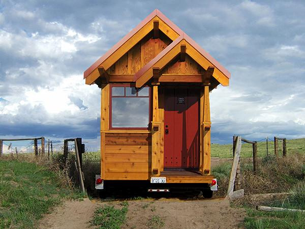 115 sq.ft. Tiny House on Wheels